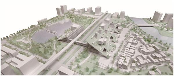 תכנית הפרויקט - מבט על. הדמיה: Taoyuan office of Public Construction