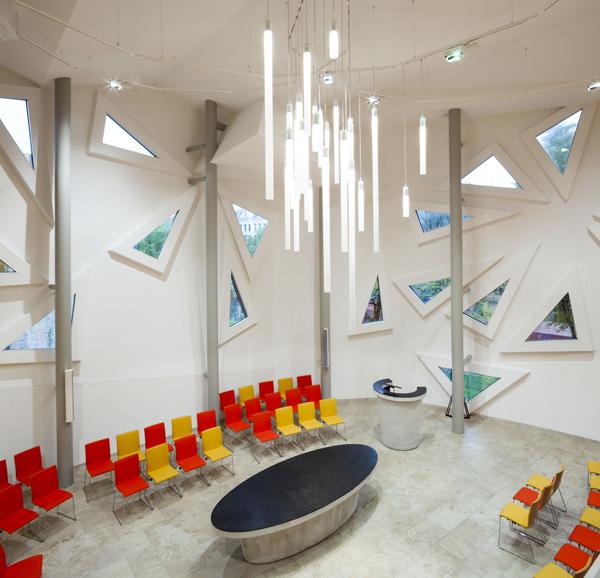 פרויקט קליפסו - מבט מבפנים, רוטרדאם, הולנד, 2013. צילום: Ben Blossom