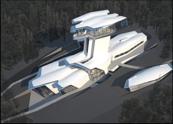 קפיטל היל, מבט כללי. הדמיה: Zaha Hadid Architects