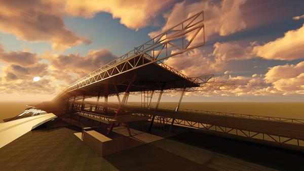 הפרויקט של צליל יופה בן שמחון, המחלקה לארכיטקטורה