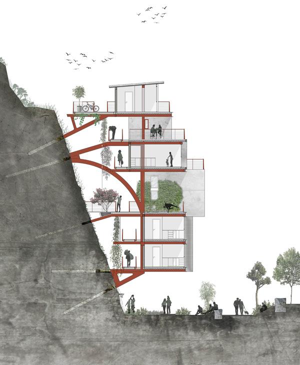 הפרויקט של אריה חיון, המחלקה לארכיטקטורה