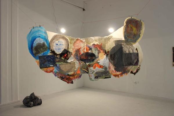 הפרויקט של נגה פרחי, המחלקה לאמנות. צילום: מונה בנימין