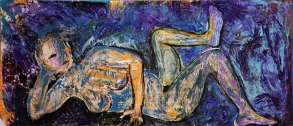 גילי וולמן קליין, ציור מתוך התערוכה