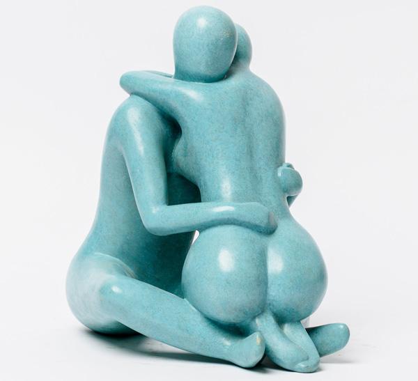 פסל של יעל שביט, מתוך התערוכה