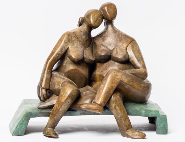 יעל שביט, פסל מתוך התערוכה