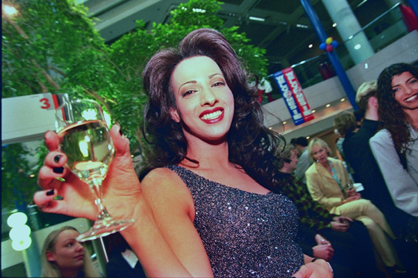 דנה אינטרנשיונל, המסע לאירוויזיון, 1998. צילום: זיו קורן