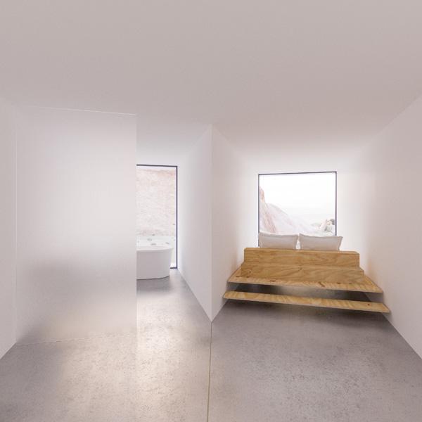 מפגשים לא שגרתיים נוצרים מהחיבור של המכולות, תכנון והדמיה: Whitaker Studio