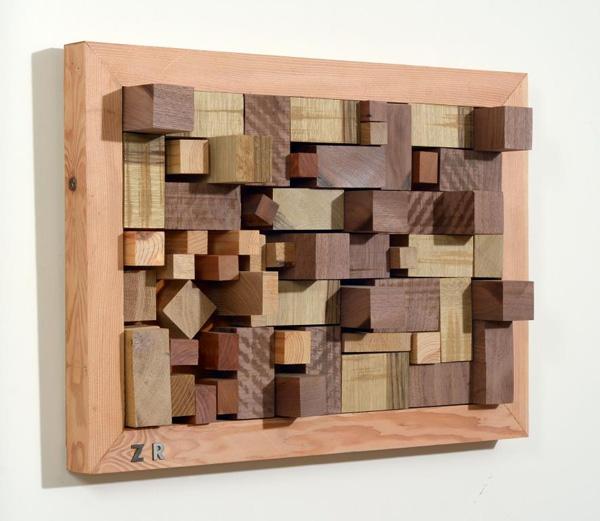 רונן זפרני, תבליט עץ.