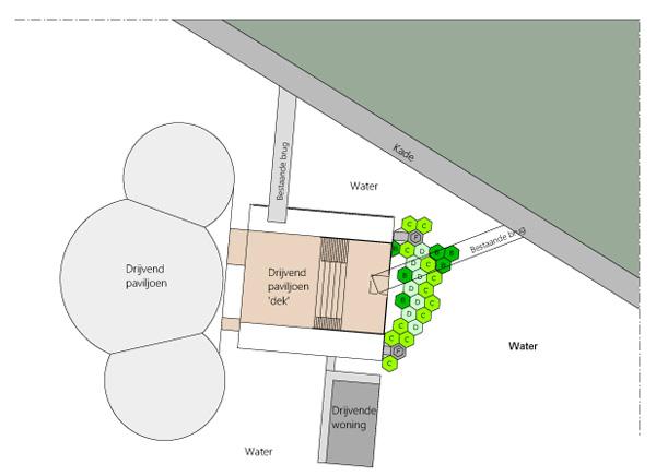 תכנית כללית. תכנון: Recycled Island Foundation