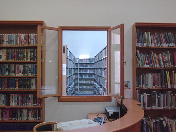 ספריה. צילום: באדיבות בית אריאלה
