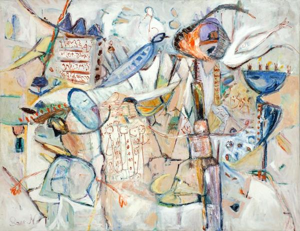 מאירה אוהד דורי, מתוך התערוכה מגילות נסתרות.