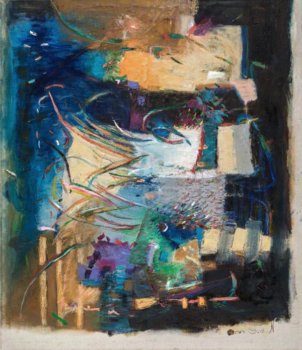 עבודה של מאירה אוהד דורי, מתוך התערוכה מגילות נסתרות.