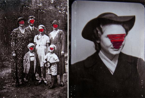 דבורה ספז, עבודות מתוך התערוכה
