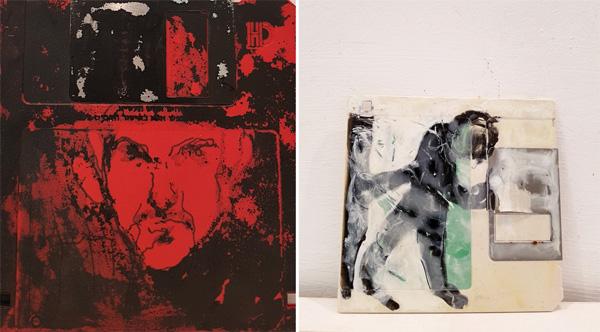מלינה גברעם, עבודות מתוך התערוכה