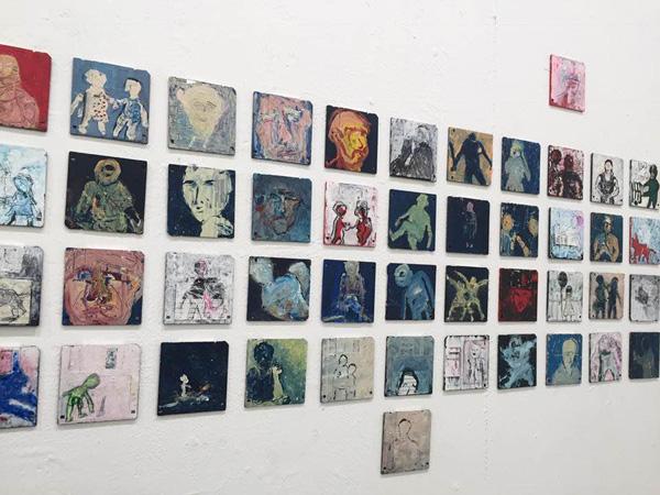 מלינה גברעם, התערוכה