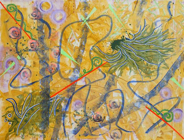 עבודה של דפנה מוריה, מתוך התערוכה