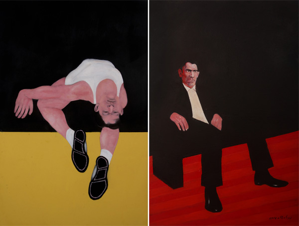 ציורים של מיכל ויטלס, מתוך התערוכה