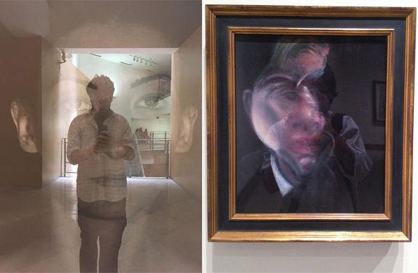 עמרי קרן לפידות, מתוך התערוכה Reflecting Art