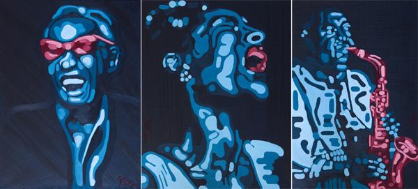 מציוריו של גבו בלפר, מתוך התערוכה