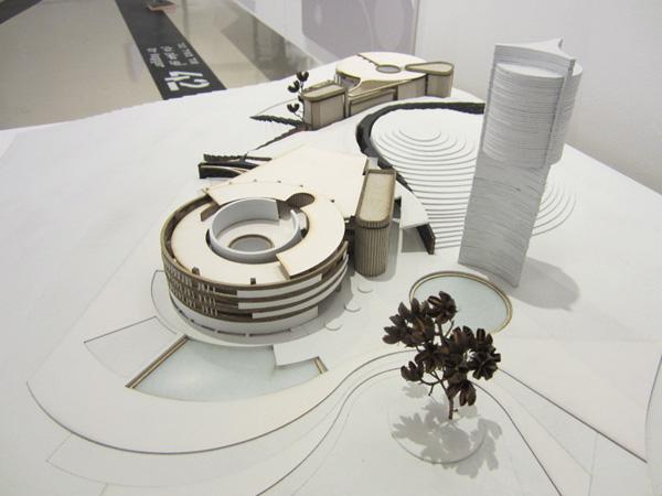 מודל פיזי, מתוך פרויקט הגמר של אור נגר