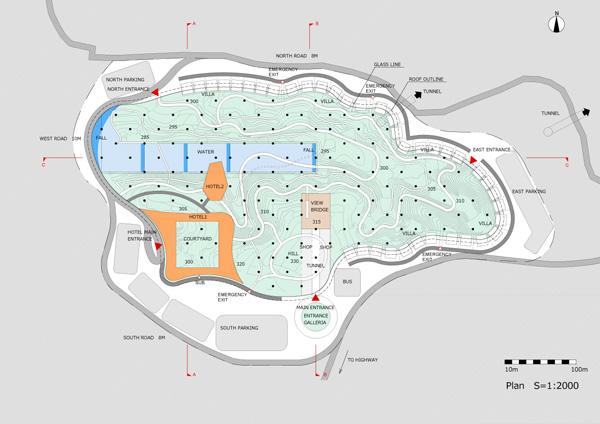תכנית כללית. תכנון: EASTERN design office