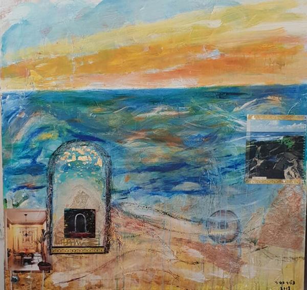 עבודה של דליה מאיר, מתוך התערוכה החדשה בוינה