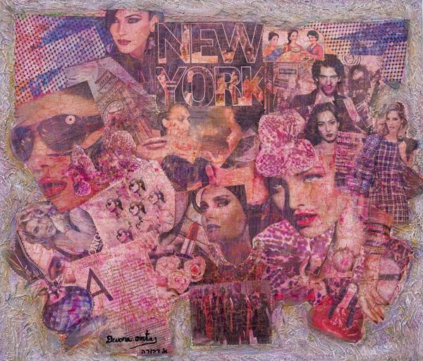 עבודה של דבורה אורטס, מתוך התערוכה החדשה בוינה