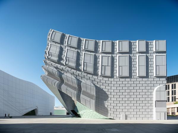 החזיתות המשוכפלות, The Imprint. תכנון: MVRDV. צילום: Ossip van Duivenbode