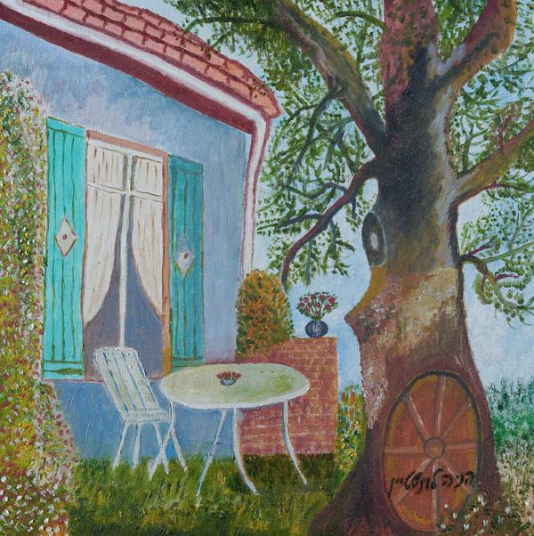 הניה לוינשטיין, ציור מתוך התערוכה