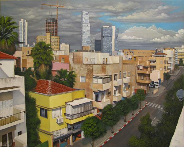 דוראר בכרי, דרום תל אביב, שמן על קנבס