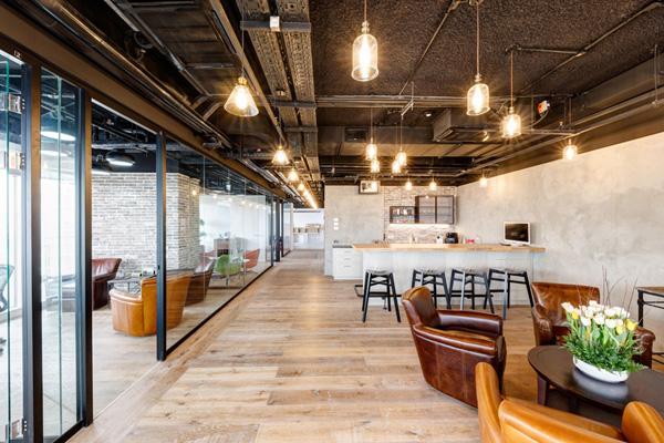 משרדי Moneta Seeds - קרן הון סיכון. תכנון: חגי נגר אדריכלים. צילום: תומר פדר
