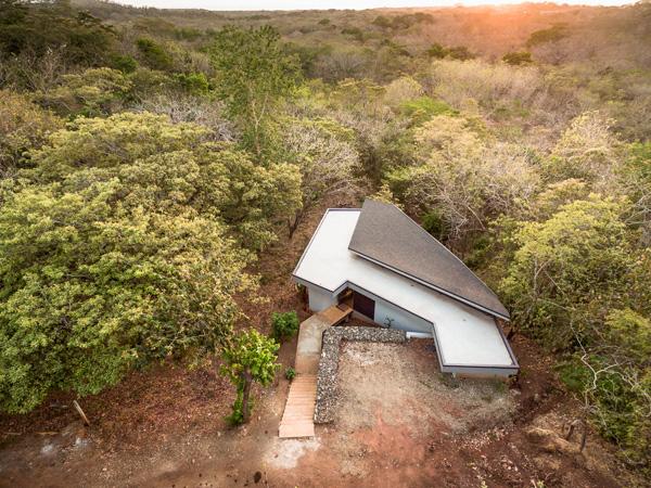בית העלה המרחף. תכנון: LSD Architects. צילום: Fernando Alda
