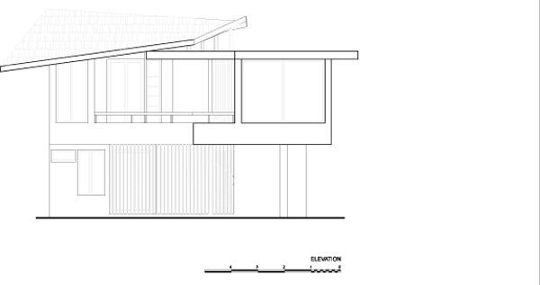 חזית 3. תכנון: LSD Architects.