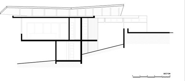חתך 1. תכנון: LSD Architects.