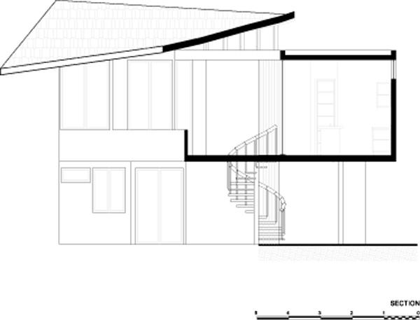 חתך 2. תכנון: LSD Architects.
