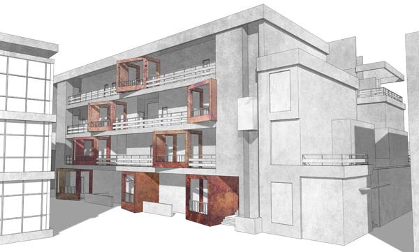 מבט C, מתוך פרויקט הגמר של גל נמרי, אוניברסיטת אריאל