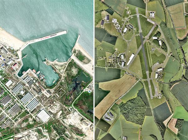 עמר בן צבי 2018. מימין: Cotswold Airport, Cirencester, United Kingdom ; משמאל: Kaspiysk, Dagestan Republic, Russia.