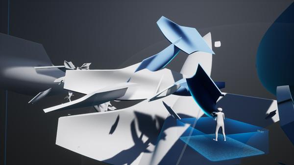 המשתתפים בתערוכה עוזרים לבנות את המודל. הדמיה: Zaha Hadid Architects©