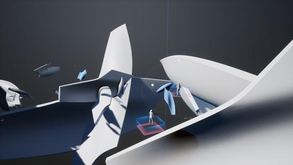 שיתוף פעולה עם ענקיות טכנולוגית ה- VR בעולם. הדמיה: Zaha Hadid Architects©