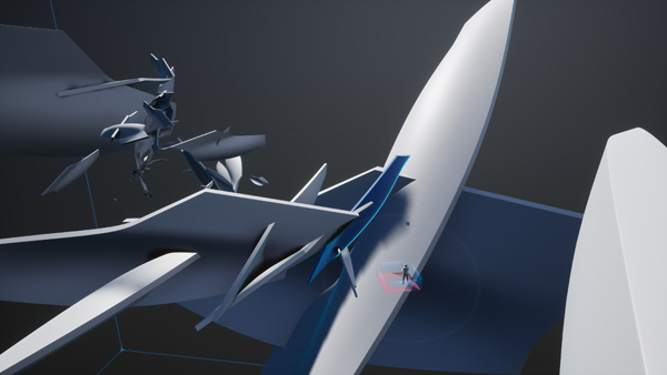 מודלים מתהליך הבניה בהדפסת תלת מימד יוצגו בתערוכה. הדמיה: Zaha Hadid Architects©