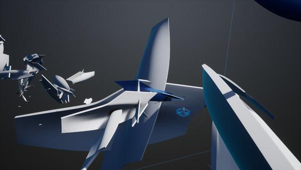 בעתיד יוכלו מתכננים לחוש את המרחב של הפרויקט בזמן אמת. הדמיה: Zaha Hadid Architects©