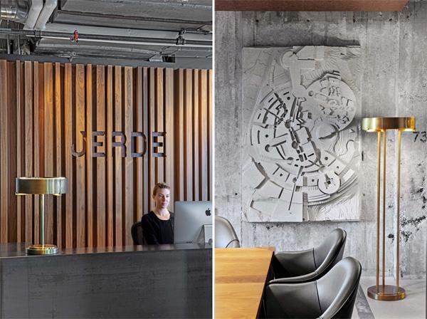 אווירה ייחודית במשרדים החדשים של Jerde. תכנון: Rapt Studio. צילום: Eric Laignel