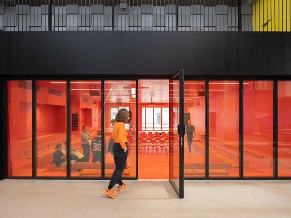חדר הרצאות תכנון: MVRDV+COBE צילום:Ossip van Duivenbode