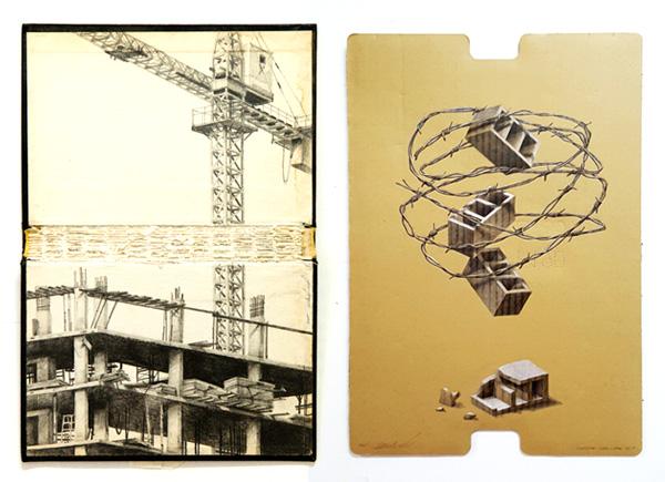 עבודות מתוך התערוכה, אמיר תומשוב, דימויים באדיבות גלריה שלוש
