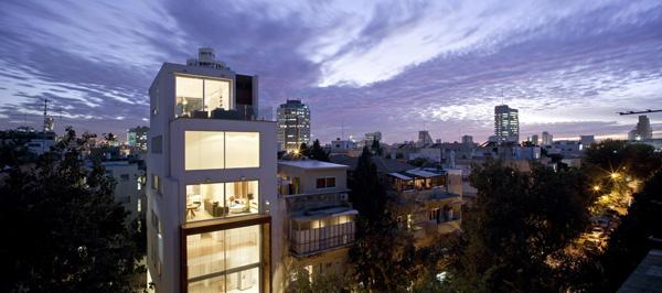 נבות-רובין אדריכלים פרוייקט זמנהוף 20, צילום: עמית גירון