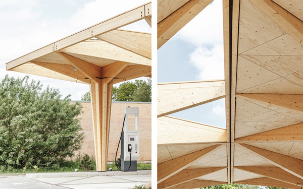open and closed roof panels, credit COBE and Rasmus Hjortshøj - COAST