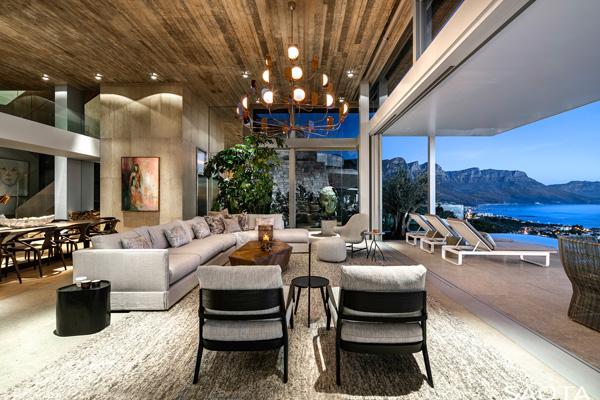 living room view, Photographer: Adam Letch