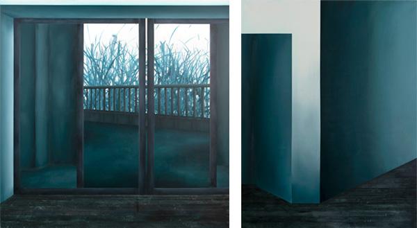 עבודות מתוך תערוכתה של טלי גולני, צילום דור אבן חן