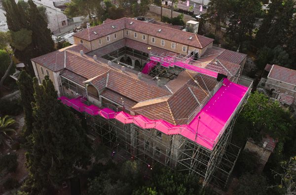 מייצב 90 מעלות של HQ Architects, בית הנסן ירושלים. צילום: דור קדמי
