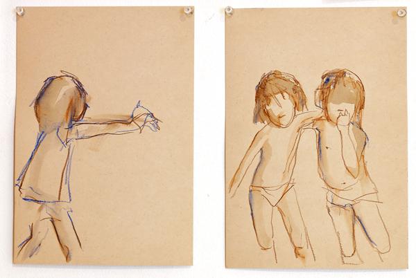 עבודה מתוך התערוכה טופוגרפיה של ילדות, קרדיט צילום: שרון רשב